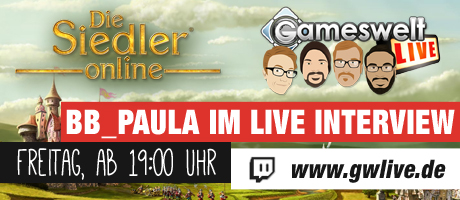 GamesweltLIVE Twitch mit Paula