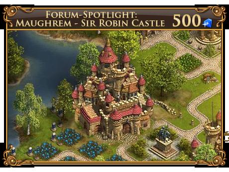 Maughrem: livello 2 del Castello di Messer Robin