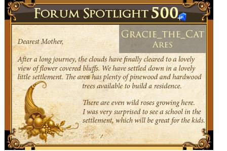 Forum Spotlight - Click for full view