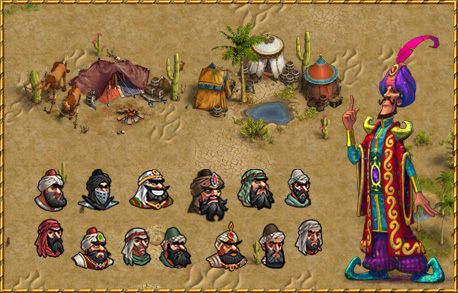 Arabian Nights Epic Raid