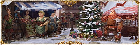 Settlers Online Winter time