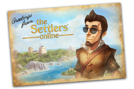 Greetings from The Settlers Online!